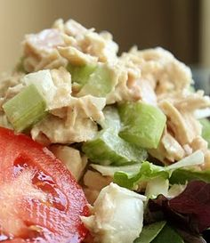 The Food Lovers' Primal Palate: Tuna Salad Slow Carb Recipes, Paleo Recipes, Great Recipes, Whole Food Recipes, Favorite Recipes, Yummy Recipes, Tuna Fish Recipes, Seafood Recipes, Eating Light