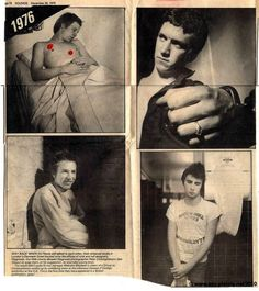 """First promo press photos of The Sex Pistols, shot back in 1976 by freelance photographer Peter """"Sleazy"""" Christopherson (later on founding member of art-terrorist post-punk bands Throbbing Gristle, Psychic TV & Coil) but never used, since Malcolm. Les Aliens, Johnny Rotten, One Wave, Heavy Metal Music, Post Punk, Press Photo, Photo Sessions, Music Artists, Pistols"""