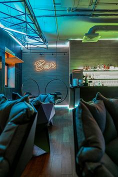 OFFSHORE BAR, Moscow, IITM Architect
