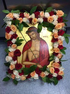 Icon of the Bridegroom - Holy Week 2014 - St. Church Icon, Orthodox Easter, Greek Easter, Jesus Art, Church Flowers, Orthodox Christianity, Holy Week, Orthodox Icons, Western Art