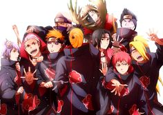 Akatsuki by beta1322456774.deviantart.com on @DeviantArt