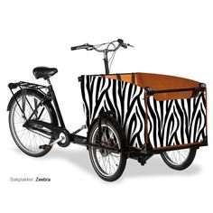Own a transport bike like this. Maybe not zebra stripes, but pimped it must be. #bucketlist