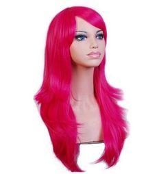 Synthetic Long Wavy Hair