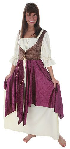 Plus Size Tavern Lady Costume Cosplay idea