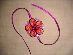 """HANDMADE RAKHI FOR INDIAN FESTIVAL -""""RAKSHA BANDHAN""""-where sister tie this rakhi on hand of brother ,and brother takes promise to take care of him for whole life.it is celebrated by great joy and enthusiasm by every sibling.many design's can be made. Rakhi Making, Handmade Rakhi, Rakhi Design, Raksha Bandhan, Indian Festivals, Art Lessons, Crochet Necklace, Projects To Try, Joy"""