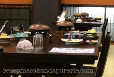 Makan malam di Ryokan Hakone -Liburan di  Jepang Hakone, Table Settings, Place Settings, Tablescapes