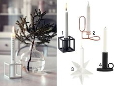 12 BEAUTIFUL CANDLESTICKS FOR CHRISTMAS (via Bloglovin.com )