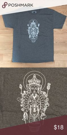 fe6b619a465cbc Custom graphic men s tee Kannon Buddhist god This is a men s tee that I  added a