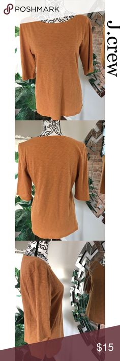 J. Crew women shirt Women shirt. Size large. No rips or stains. In good condition. Non smoking home.  Measurement (laying flat)  Pit to pit 18inch Shoulders 14inch J. Crew Tops