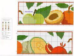 Anaide Ponto Cruz: lindos gráficos de barrados em ponto cruz,espero que você goste!!!obrigado pela visita!