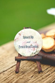 Food Labels Wedding Food Label Food Signs by companyfortytwo