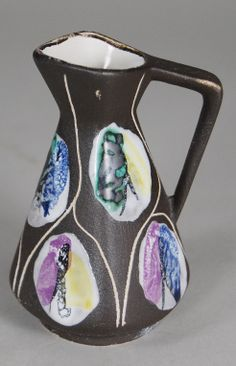 "Bay, jug ""Kongo"" - Design und Klassiker Lava, Thrifting, Ranch, Germany, Porcelain, Pottery, Space, House, Design"