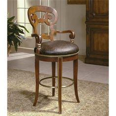 Shop for the Century Century Chair Barstool with Scrolled Back Design at Jacksonville Furniture Mart - Your Jacksonville Areas, and servicing Gainesville, Palm Coast, Fernandina Beach Furniture & Mattress Store Pub Stools, Dining Stools, Metal Bar Stools, Counter Height Stools, Broyhill Furniture, Kincaid Furniture, Riverside Furniture, Backless Bar Stools, Stanley Furniture