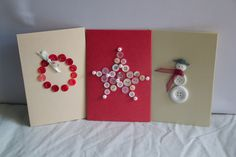Christmas Button Cards @Show Us Your Crafty Bits on FB