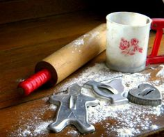 I remember using these kinds of cookie cutters as a child . . .