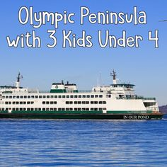 Olympic Penninsula with 3 Kids Under 4 from In Our Pond #travel #pacificnorthwest #roadtrip #travelwithkids #seattle #oceanwithkids #orca #ocean #beachtrip