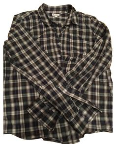 Steven Alan Plaid Button-down Top Size 12 (L) Grunge Outfits, New Outfits, Cool Outfits, Fashion Outfits, Steven Alan, Character Outfits, Swagg, Look Cool, Clothing Items