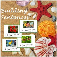 Summer Building Sentences Activity for Speech Therapy For more resources follow https://www.pinterest.com/angelajuvic/autism-special-education-resources-angie-s-tpt-sto/