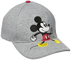 Amazon.com  Disney Mickey Mouse Little Boys Toddler Baseball Hat  Clothing 8f89a9a0a38c