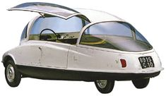Citroen Coccinelle, which was to have slotted between the 2CV and the DS in the lineup.