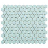 "Found it at Wayfair - Retro 7/8"" x 7/8"" Porcelain Glazed Mosaic in Matte Light Blue"