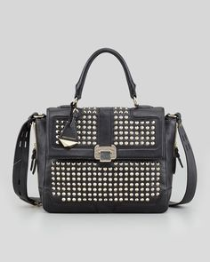This Rebecca Minkoff Elle Satchel bag is exclusively ours through August!