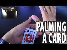 Vanishing and Producing a Card -- Tenkai Palm Tutorial - YouTube