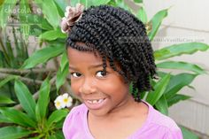 Chocolate Hair / Vanilla Care: Side Flat Rope Twists with Box Twist-Out #NaturalHair