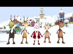 Crazy santa dance - a great movement brain break for the students.