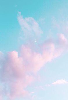 Dreamy sky new room pastel pink aesthetic blue aesthetic. Blue Aesthetic Pastel, Sky Aesthetic, Aesthetic Pastel Wallpaper, Aesthetic Backgrounds, Aesthetic Wallpapers, Pastel Color Wallpaper, Pastel Sky, Pastel Pink, Pastel Clouds
