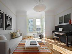 Hervorragend Weiß Ist Die Neue Farbe: Wohnzimmerwände
