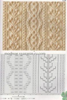 La análisis y la labor de punto de las cintas por los rayos por los esquemas japoneses - Klubok. Modnoe Vyazanie.ru.com // Лада Семенова