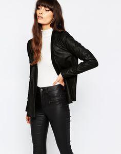 Selected Bali Leather Jacket