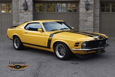 1970 Ford Mustang BOSS 302 Resto-Mod 392 Ford Racing Crate Engine 480Hp