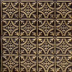 "Faux Ceiling Tiles 6x6 Pattern #150 Antique Brass Faux Plastic 2x2 Ul Class ""A""rated Can Be Glue On,tape On,staple On,nail on Any Flat Surface.suspended Ceiling!cheap, Discount Decorative. faux decorative ceiling tile, tiles, affordable tile http://www.amazon.com/dp/B00319FZOI/ref=cm_sw_r_pi_dp_6v4mwb04ES8FZ"