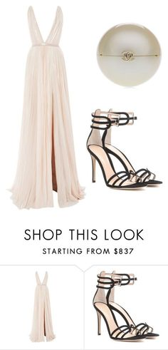 """Untitled #115"" by erica5121 on Polyvore featuring J. Mendel, Gianvito Rossi and Chanel"