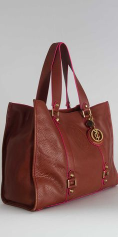 Juicy Couture Nicola Essential Every Day Bag in Cognac/Drago. $378.00