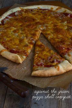 Against the Grain Gluten Free Pizza Shell Copycat Recipe