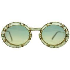 12357e8ba3d9 1960 s Christian Dior Enameled Sunglasses