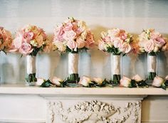 Dusky pink details and personal touches brought effortless elegance to Laura and Seb's day