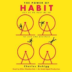$9.18   Paperback The Power of Habit: Why We Do What We Do in Life and Business Audible – Unabridged Charles Duhigg   #book #read #collection