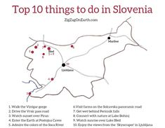 The 35 best things to do in Slovenia (with photos) - Plan you trip with the best of Nature, attractions, cities. what to see in Slovenia to be blown away! Stuff To Do, Things To Do, Slovenia Travel, Bohinj, Europe Bucket List, Lake Bled, Reisen In Europa, Les Cascades, San Francisco Travel