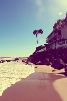 Dreaming of Malibu on a rainy day!