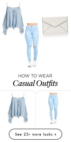 """Casual Oufit"" by ashgarciacelis on Polyvore featuring Sans Souci and Rebecca Minkoff"
