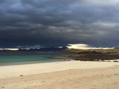 An overcast day at Mellon Udrigle. Photo by Helen Thomson.