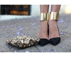 The Gold Standard: Shoes & Bags