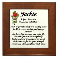 37 Best Jacqueline Names And Images Images In