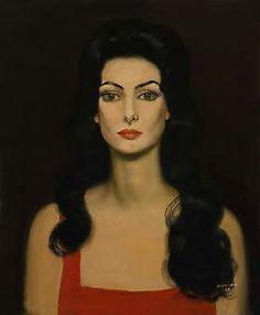 Cândido Portinari, Retrato de Carmen Mayrink Veiga, 1959