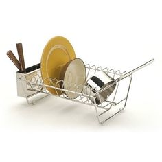 Amazing RSVP Endurance Stainless Steel In-Sink Dish Drying Rack