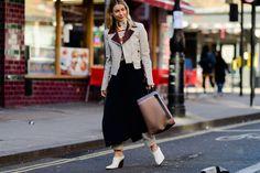 London Calling: The Chicest Looks on the Street - HarpersBAZAAR.com